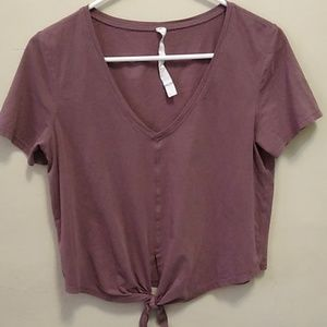 Lululemon Tie T Shirt